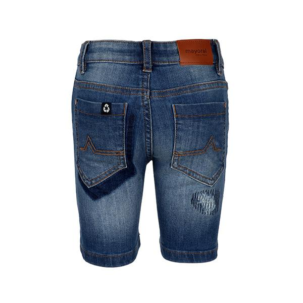 BOYS DENIM BLUE SHORTS