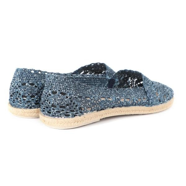 GIRLS DENIM ESPADRILLE SLIP-ON