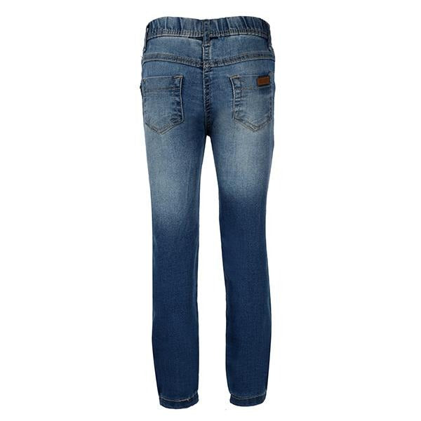 Girls Basic Slim Fit Denim Trouser
