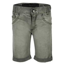 Distressed Army Green Shorts
