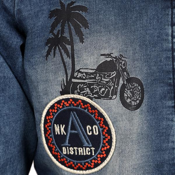 BOYS DENIM BLUE JACKET - ruffntumblekids