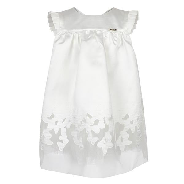 girls off white butterfly embroidered dress_ruffntumblekids