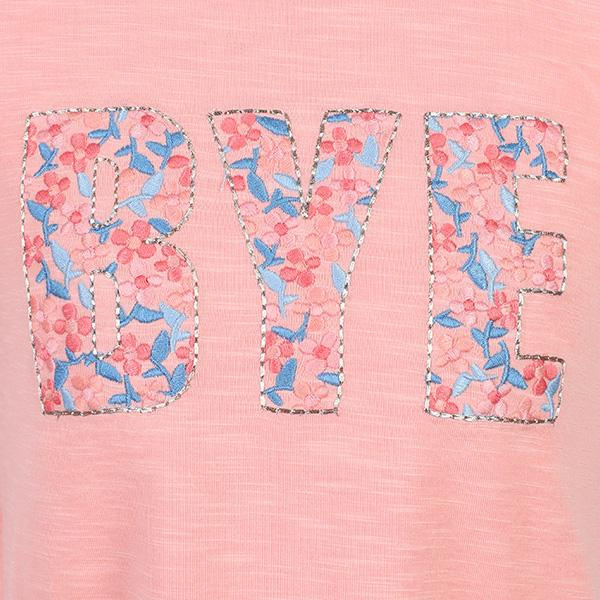 Miniclub Flamingo pink Top girls 3-4 years Applique embroidered t-shirt BNWT