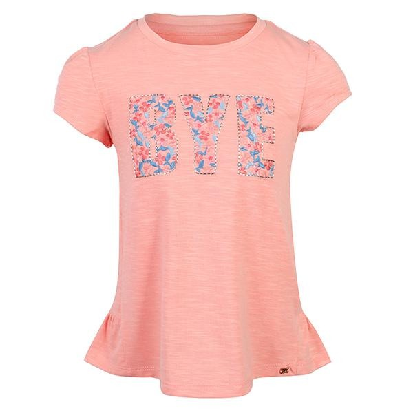 GIRLS FLAMINGO EMBROIDERED TOP - ruffntumblekids