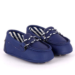 navy blue moccasin-ruffntumble