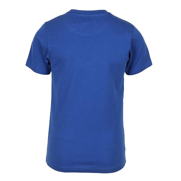 BOYS BLUE COTTON TEE POLO - ruffntumblekids
