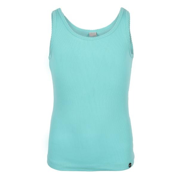 GREEN BASIC TANK TOP - ruffntumblekids