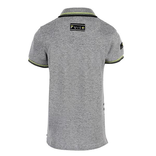 BOYS GREY SPORTY POLO