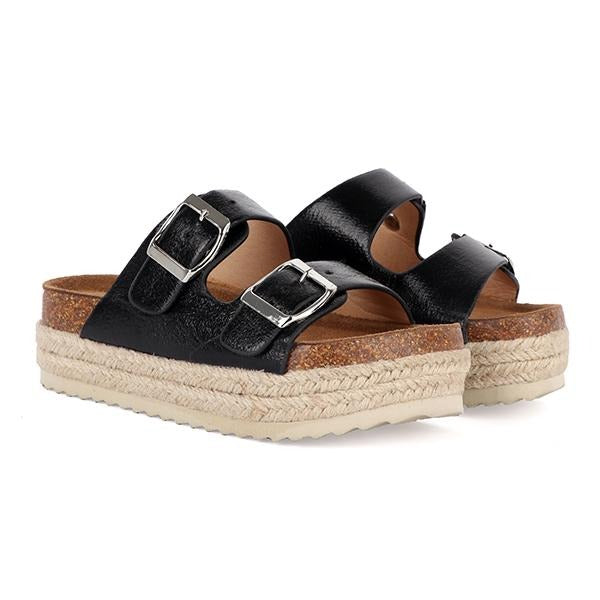 HIGH ESPADRILLE SLIPPERS
