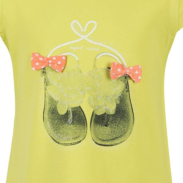 LIME S/S GRAPHIC TOP - ruffntumblekids