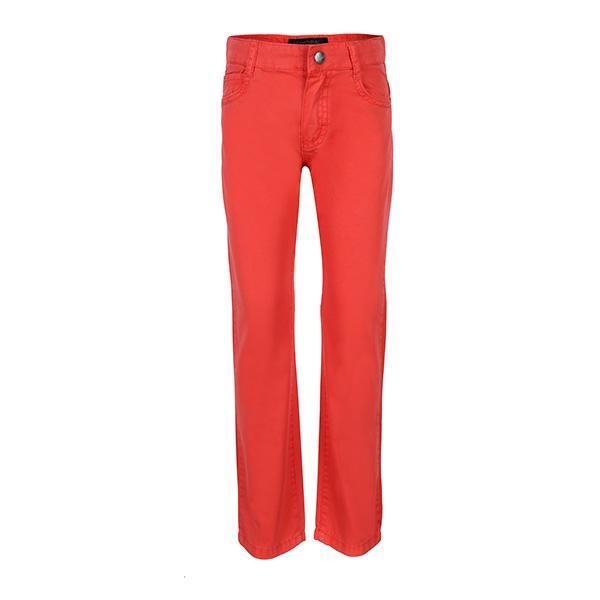 BOYS RED LOBSTER 5 POCKETS TROUSER - ruffntumblekids