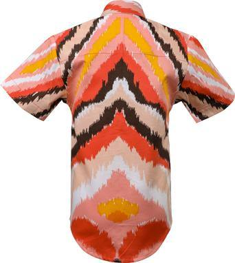 BOYS SHORT SLEEVES PRINT SHIRT -  MULTI-COLORED - ruffntumblekids
