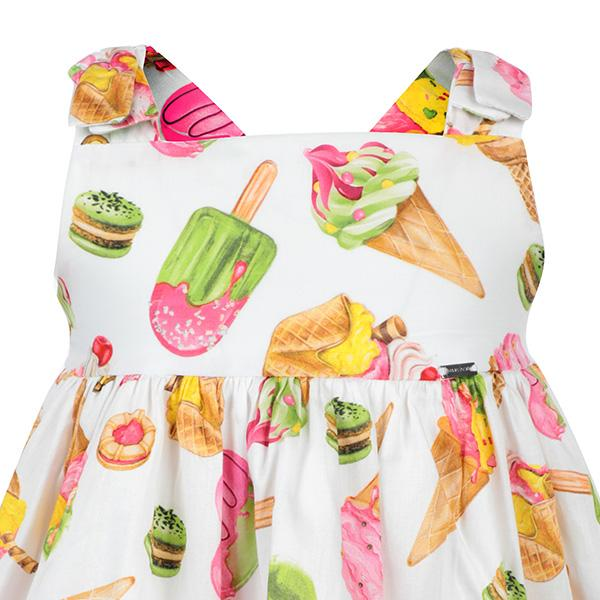 MULTICOLOR ICE CREAM DRESS