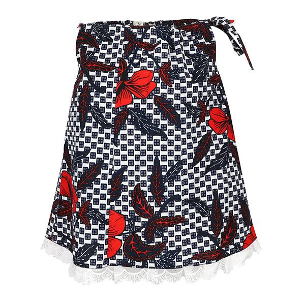 GIRLS MULTI ANKARA PRINT DRESS