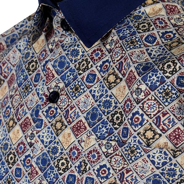 BOYS MULTI COLOR PRINT SHIRT - ruffntumblekids
