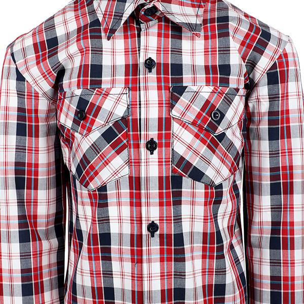 BOYS MULTI COLOR PLAID SHIRT - ruffntumblekids