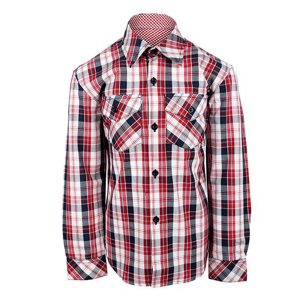 multi color plaid shirt-ruffntumble