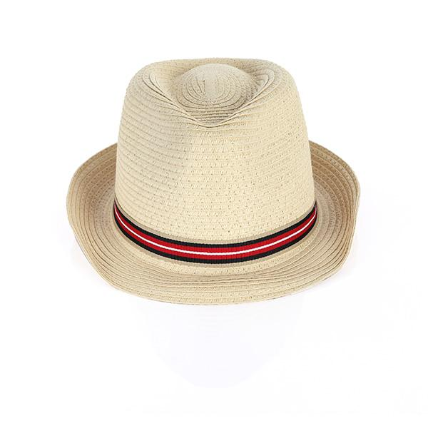 BOYS MULTI STRIPED TAPE FEDORA HAT - ruffntumblekids