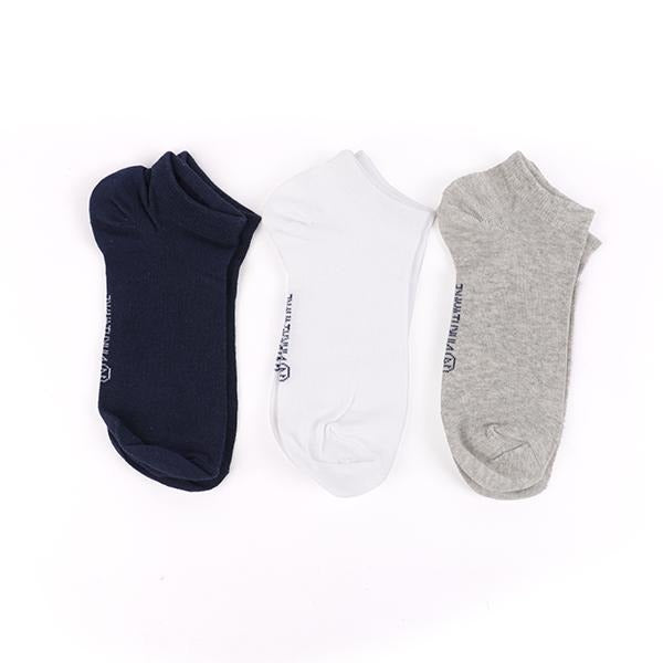 Navy 3 Pc Short Socks Set
