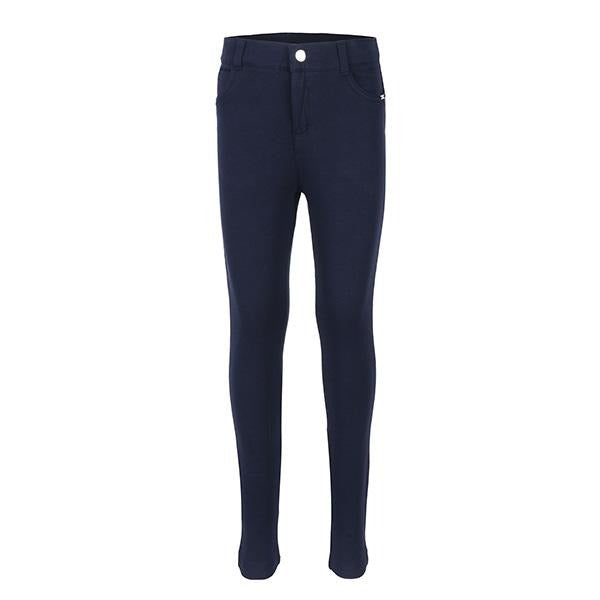 NAVY BASIC FLEECE TROUSERS