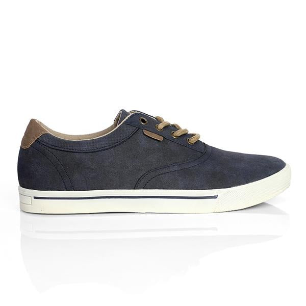 BOYS NAVY BLUE CASUAL LOW SNEAKERS - ruffntumblekids