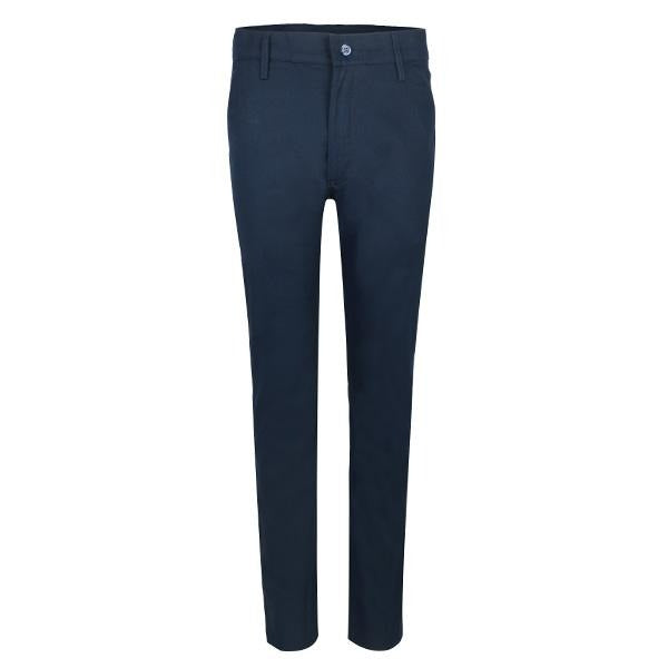 NAVY REGULAR CHINO TROUSER - ruffntumblekids