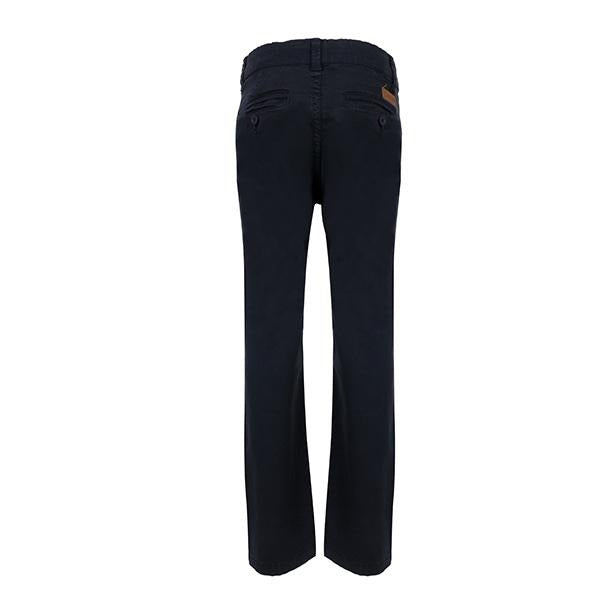 NAVY REGULAR FIT TROUSERS - ruffntumblekids