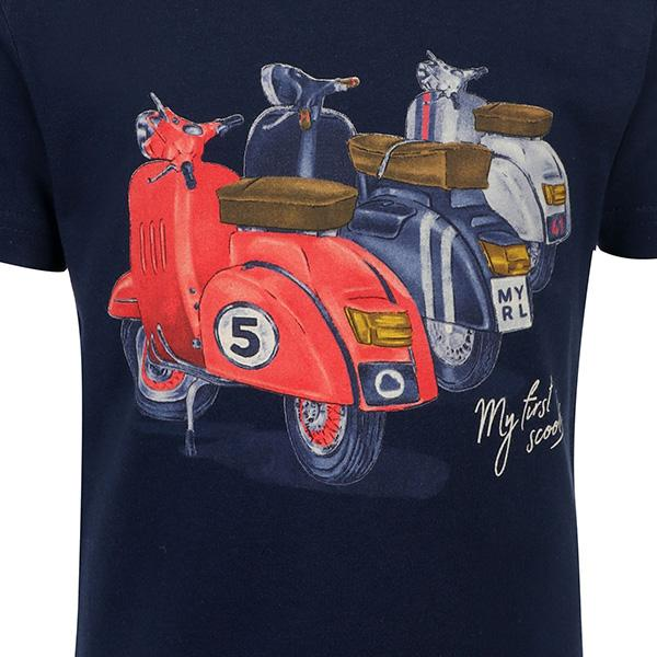 BOYS NAVY BLUE T-SHIRT - ruffntumblekids