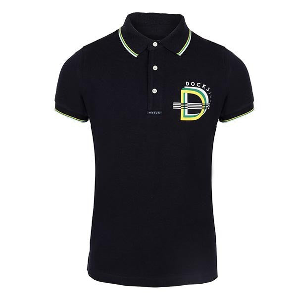 navy blue polo-ruffntumble