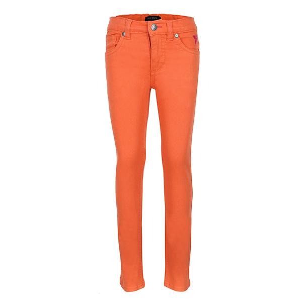 ORANGE GIRLS WOVEN TROUSER - ruffntumblekids