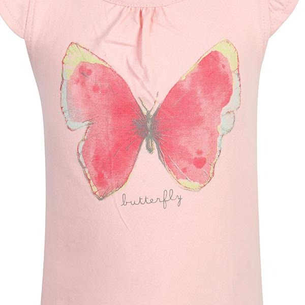 PINK SHORT SLEEVE TOP - ruffntumblekids