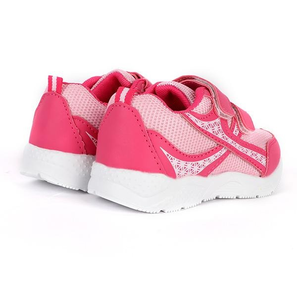 PINK VELCRO TRAINERS