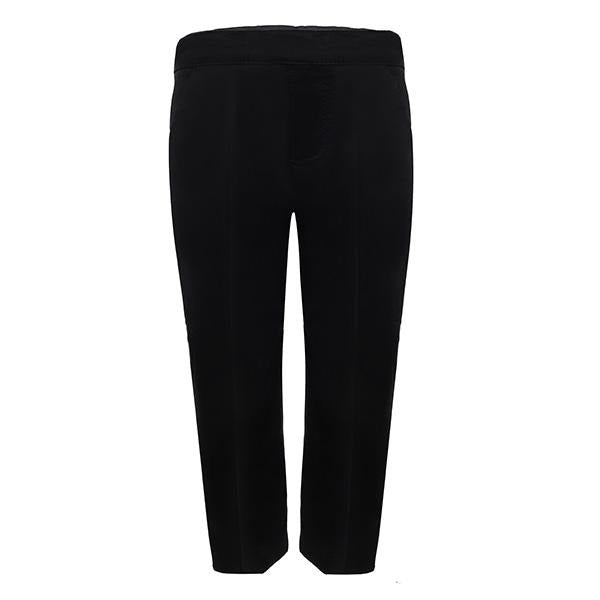 PLAIN BLACK CHINO TROUSER