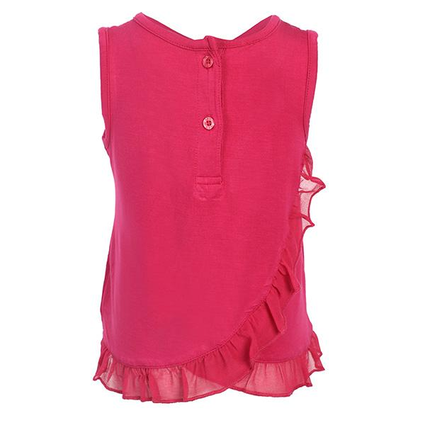 RED BACK FRILL TANK TOP - ruffntumblekids