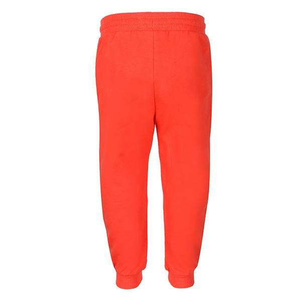 BOYS RED BASIC FLEECE JOGGERS - ruffntumblekids