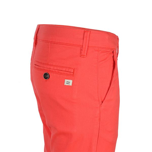 BOYS RED BASIC TWILL CHINO SHORT - ruffntumblekids