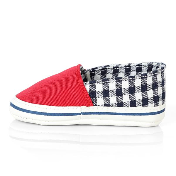 BOYS RED CUTE BABY SNEAKERS - ruffntumblekids
