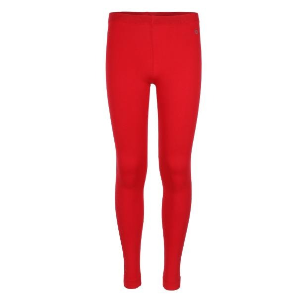RED LONG BASIC LEGGINGS