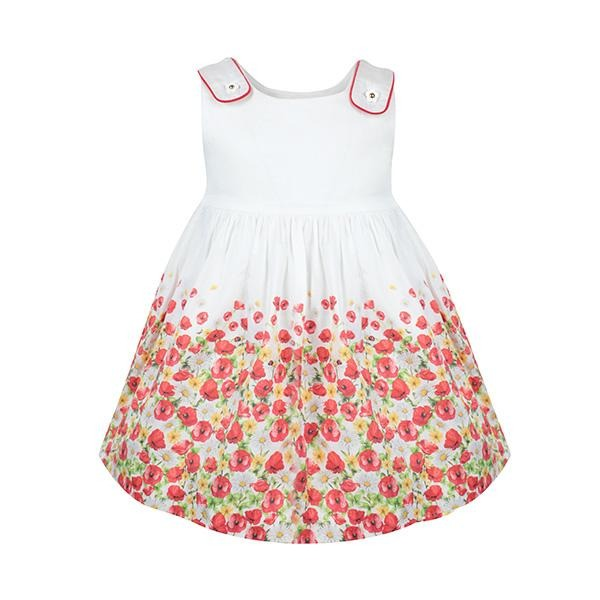 RED POPPIES DRESS