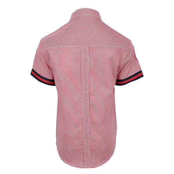 BOYS RED CHECKERED SHIRT