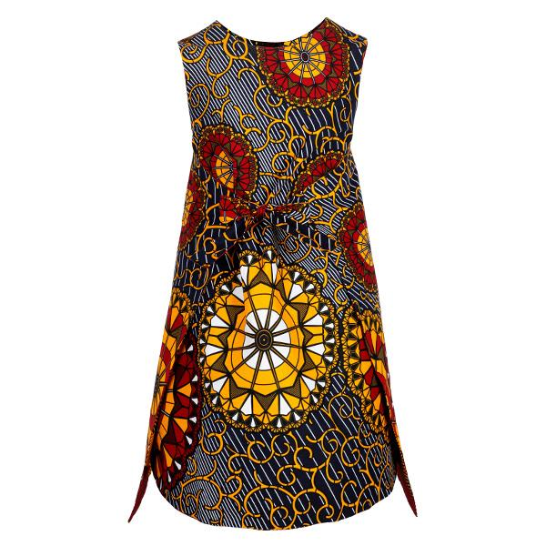 REVERSIBLE ANKARA DRESS