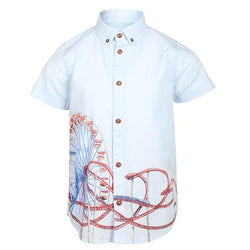BOYS SKY BLUEPRINT SHIRT - ruffntumblekids