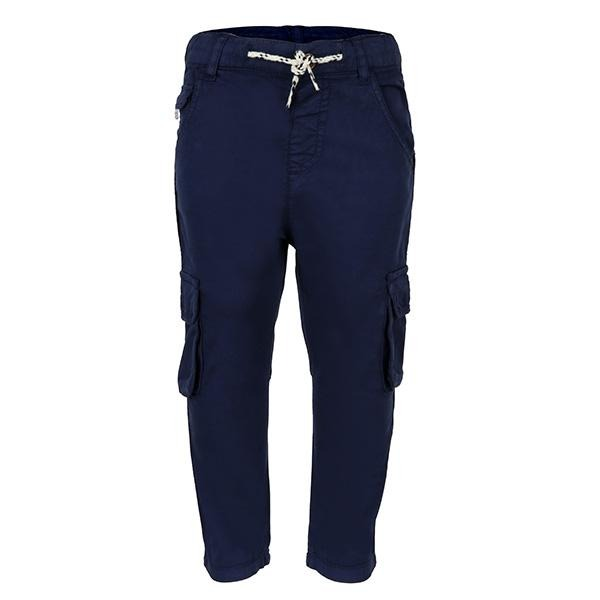 navy blue cargo trouser-ruffntumble