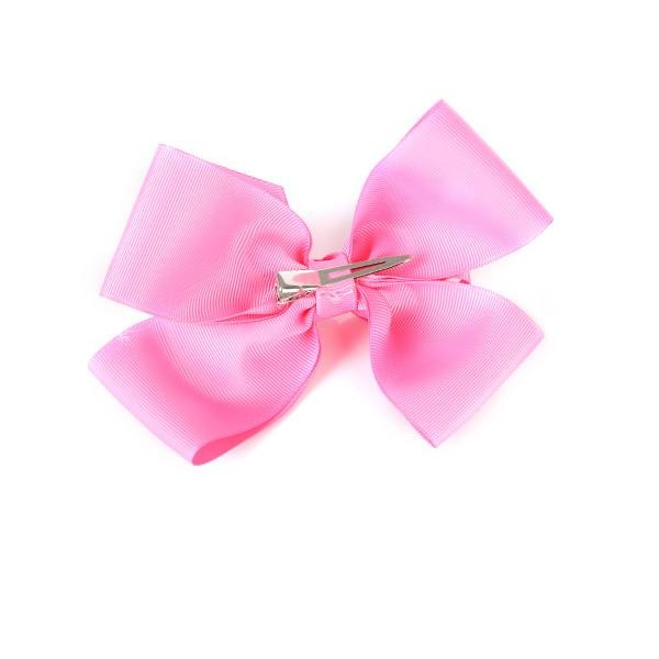 SWEET PINK CLIP BOW