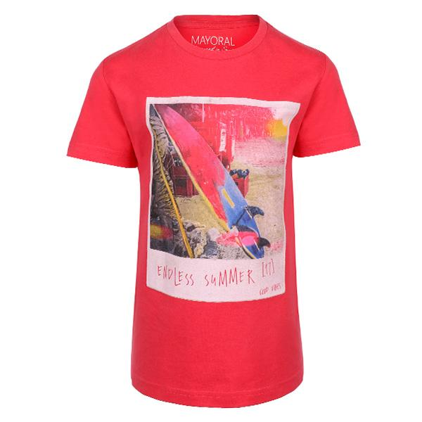 BOYS RED T-SHIRT - ruffntumblekids