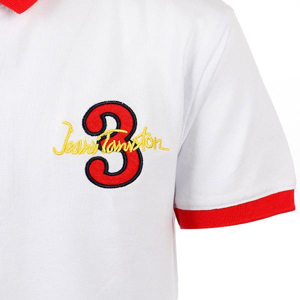 BOYS WHITE EMBROIDERED POLO - ruffntumblekids
