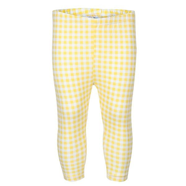 Yellow Perfume Leggings Set - ruffntumblekids