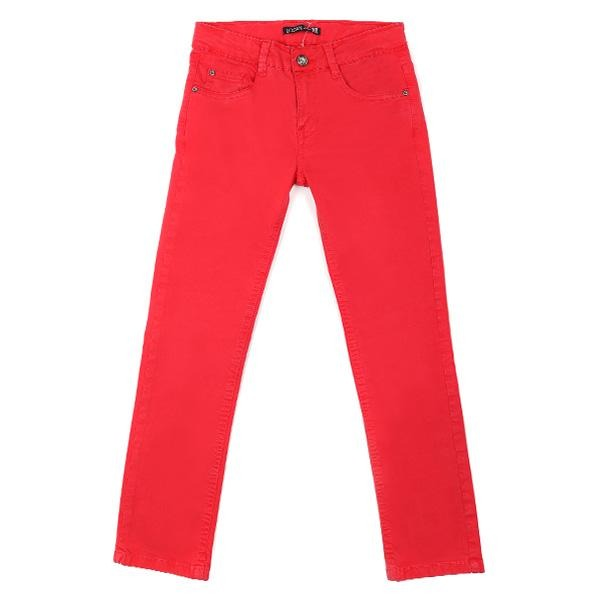 BOYS DARK CORAL TROUSERS - ruffntumblekids