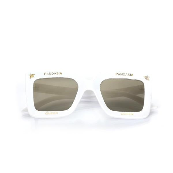 GIRLS WHITE REFLECTIVE SUNGLASSES - ruffntumblekids
