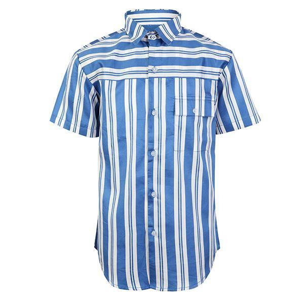BOYS SHIRT WITH STRIPE - ruffntumblekids